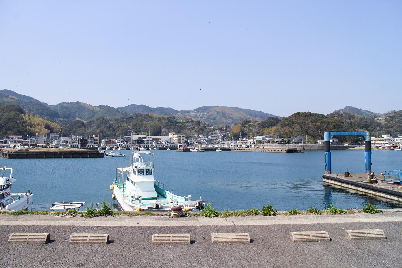 長崎市中心部から車で20分!のどかな港町の茂木町