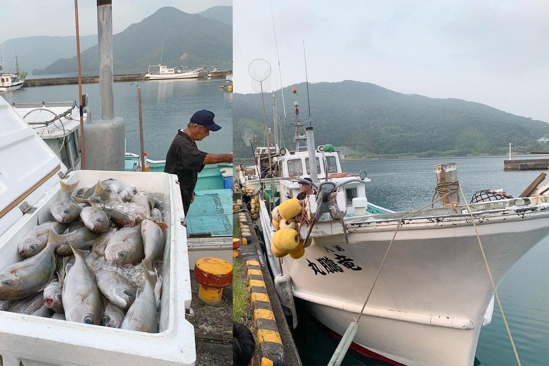「漁師料理 番屋」のご主人である岩崎 勝(いわさき まさる)さんは現役の漁師さん