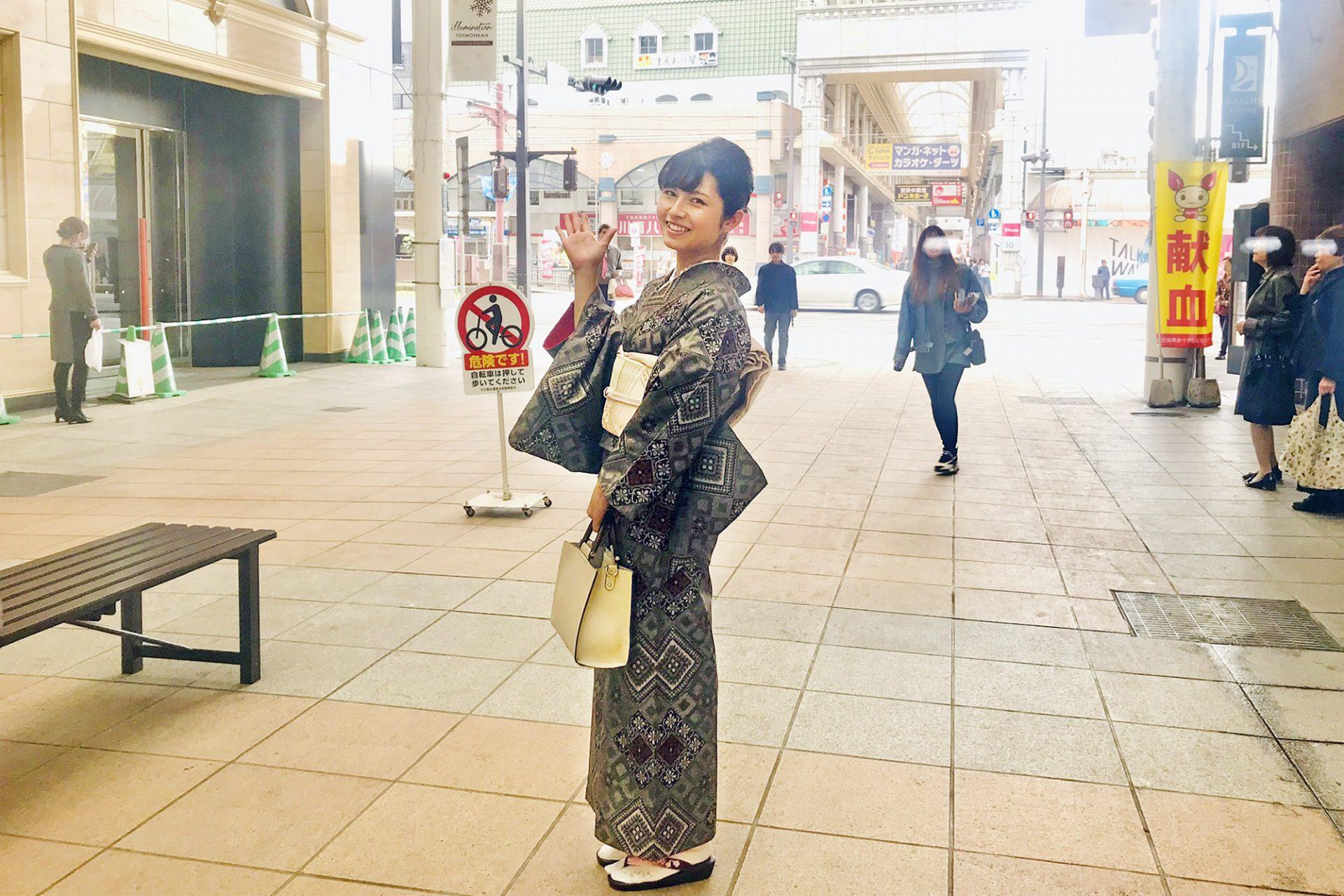 モデルの濱田トモミさん