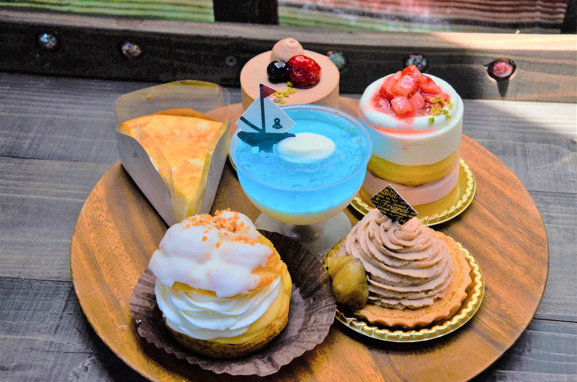 ろんろなーるでは、定番のケーキと季節のケーキがあります