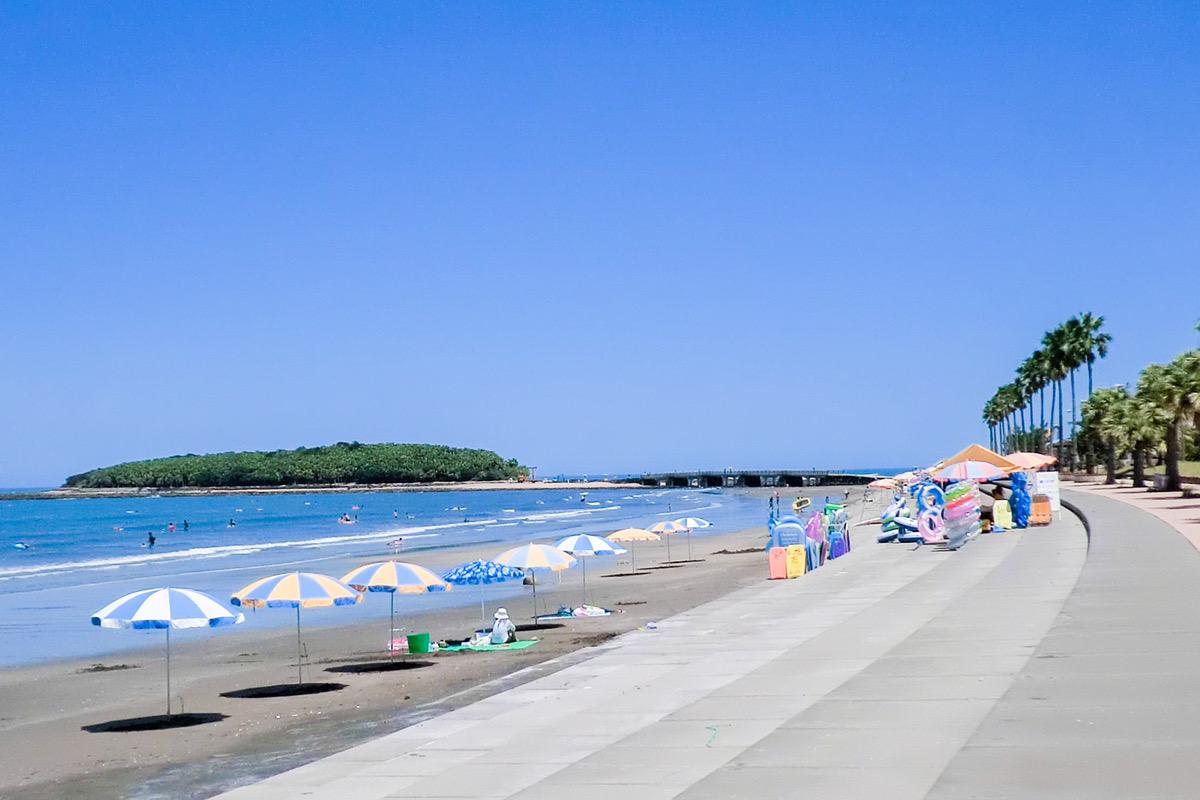 青島海水浴場 ビーチ 宮崎県 宮崎市 青島 観光 旅行 九州 観光