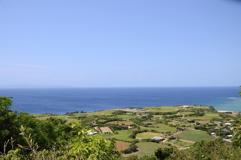 与論島の景色