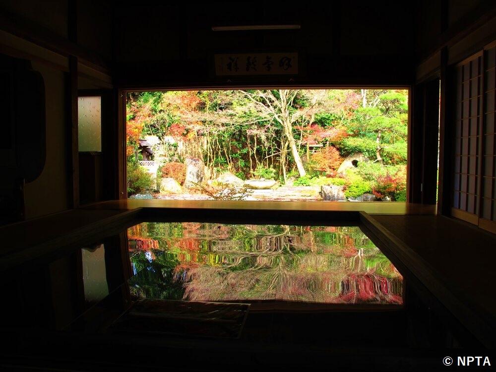寿福寺 逆さ紅葉 長崎 佐世保 観光 地 スポット 旅行 おすすめ