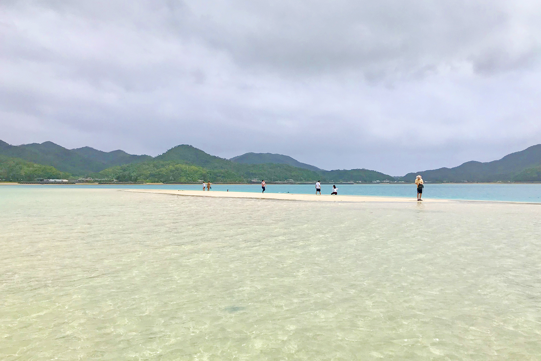 かくれ浜を見れるおすすめの時期は?