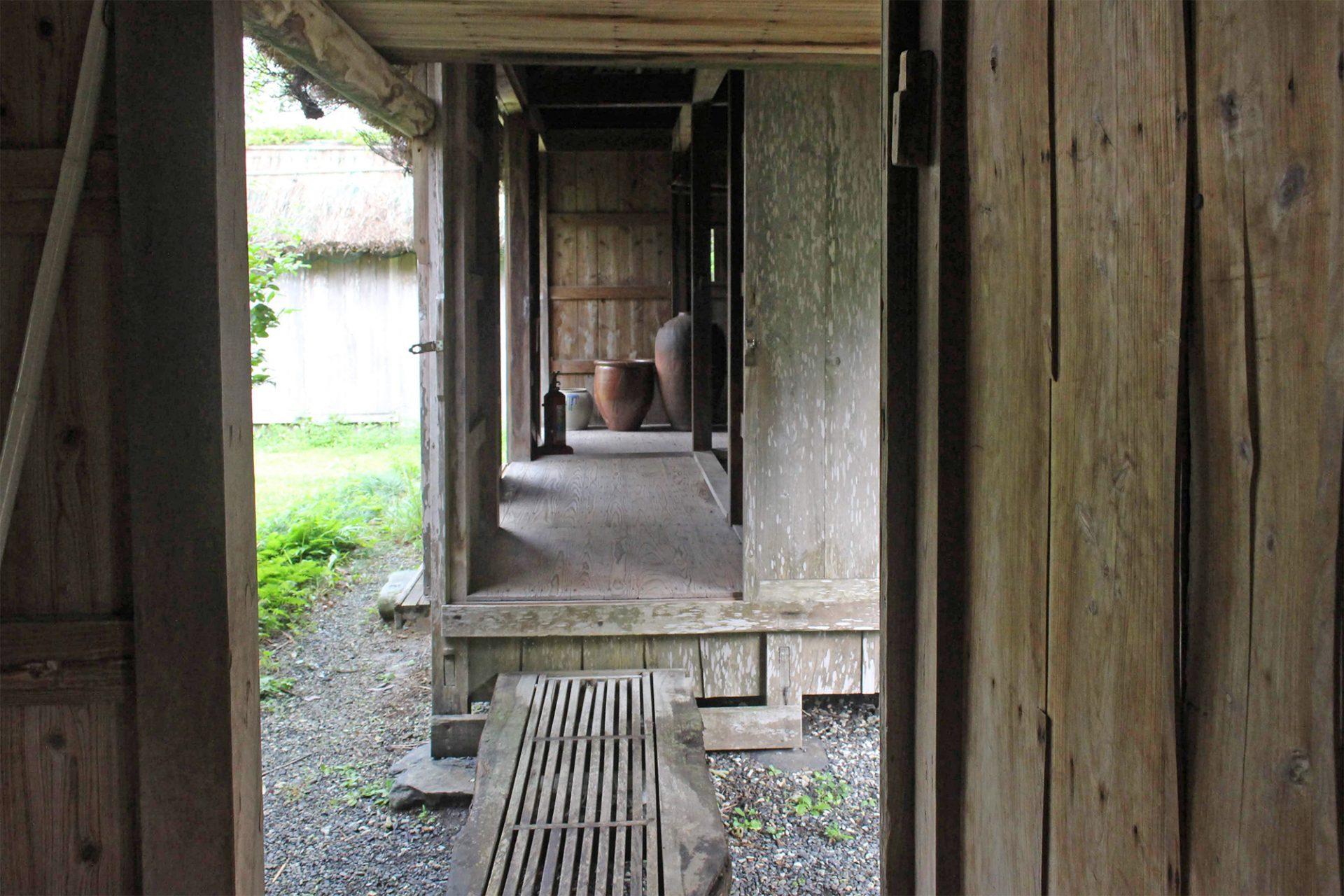 移築された奄美の民家