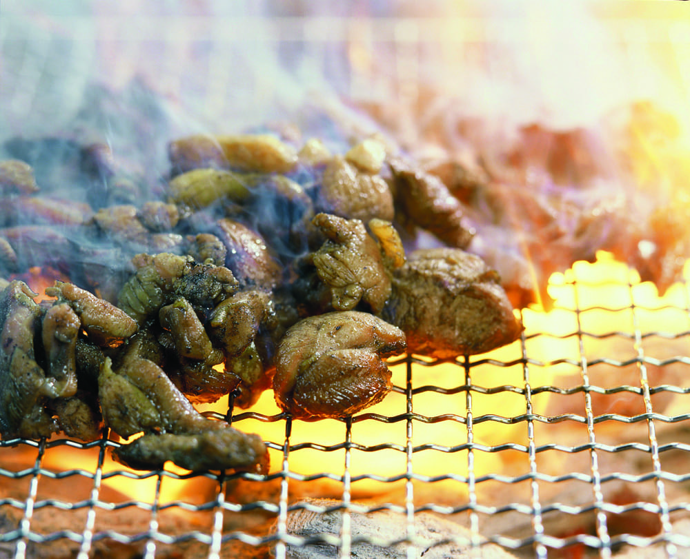 地鶏の炭火焼き 宮崎 郷土 料理 九州 ご当地 グルメ