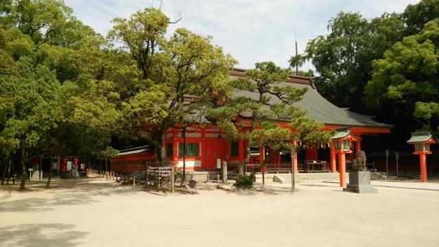 筑前國一之宮 住吉神社 ホテルニューオータニ博多 近く 観光 スポット