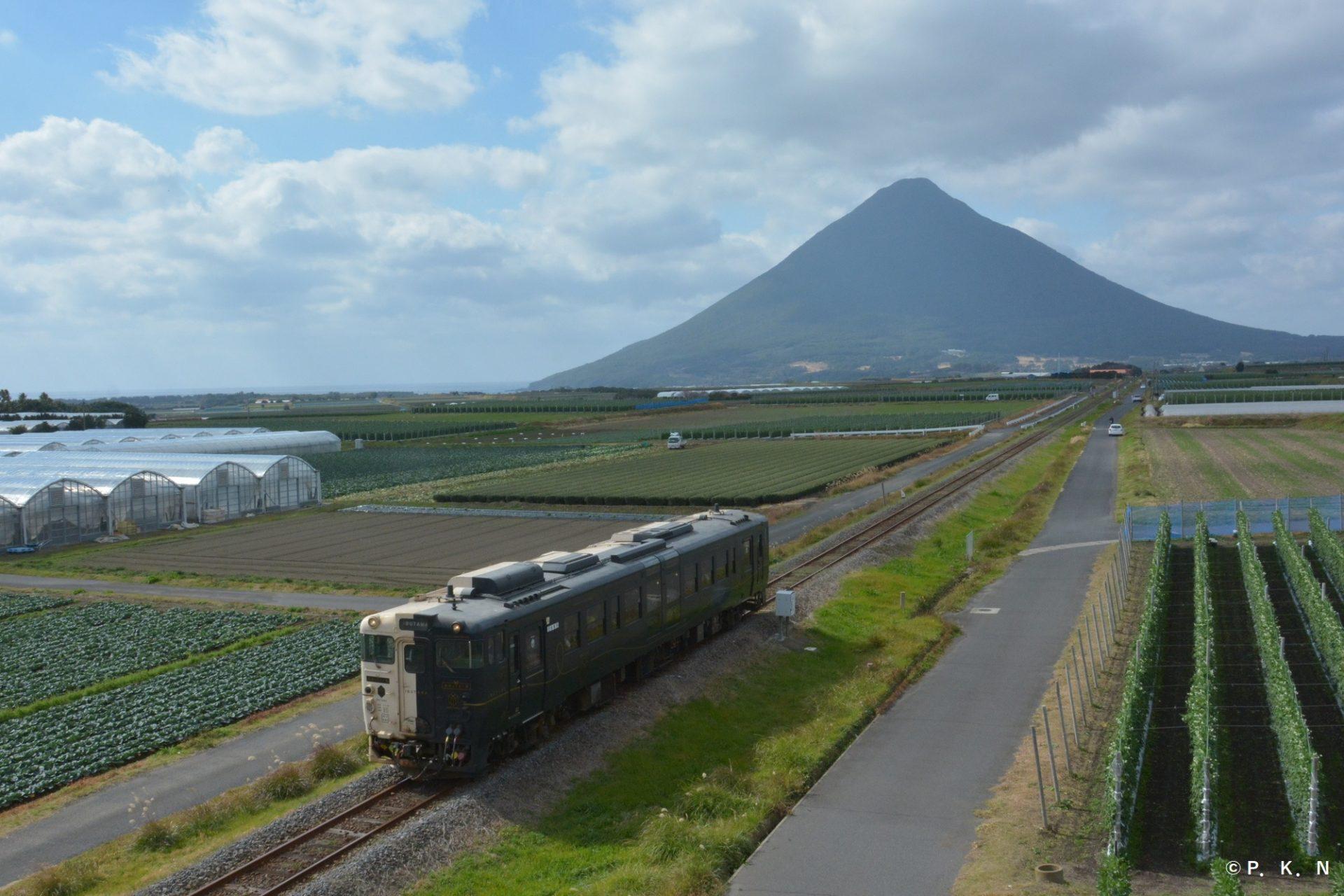 開聞岳 指宿市 観光 地 スポット 鹿児島県 旅行 九州