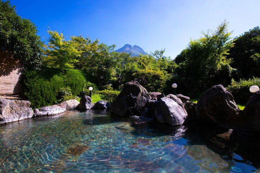 温泉 湯布院 ゆふいん 山水 館 大分県 由布市 温泉 旅館 宿 旅行 観光 おすすめ 九州