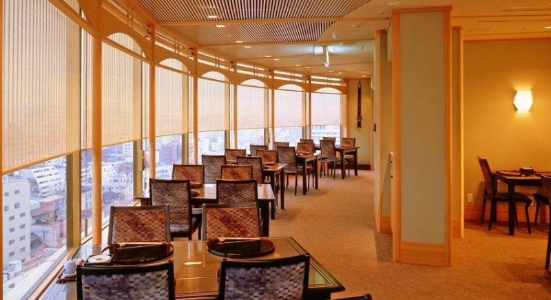 日本料理「千羽鶴」 福岡市 中央区 ホテルニューオータニ博多 九州 旅行 観光