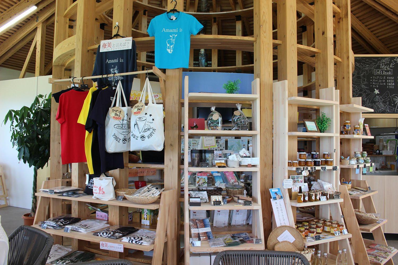 特産品の展示販売スペース