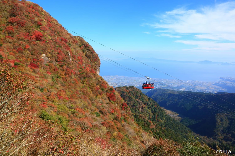 仁田峠 雲仙ロープウェイ 長崎 絶景 スポット 九州 旅行 観光 自然 おすすめ