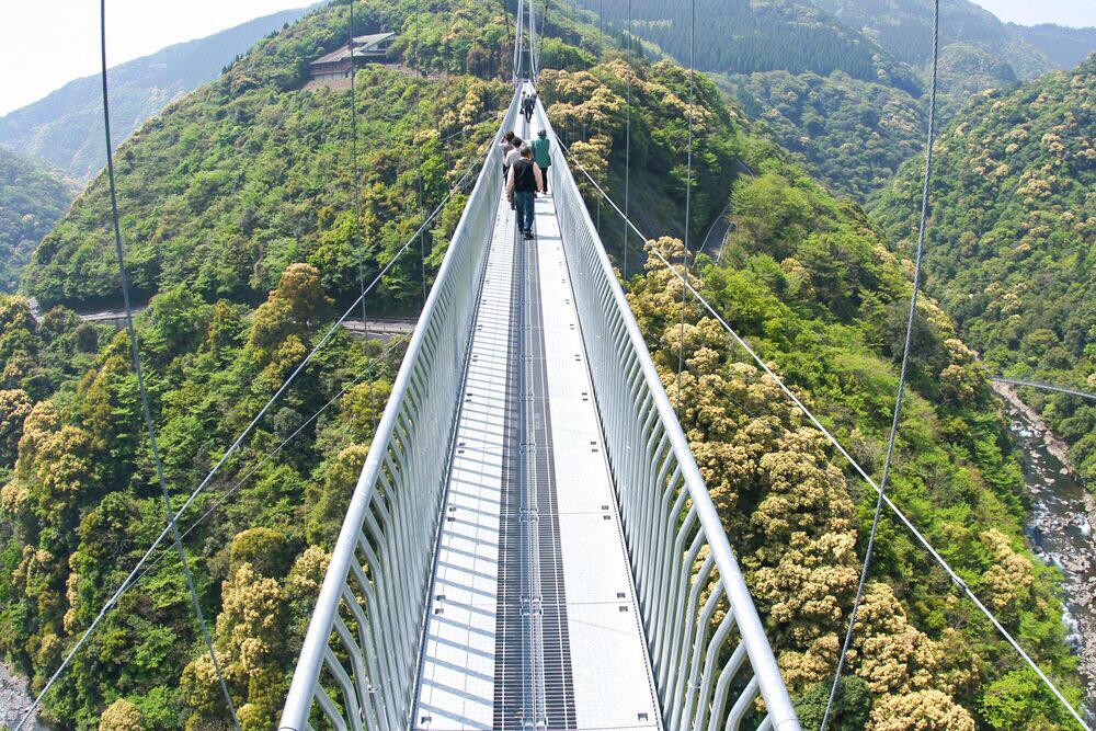 照葉大吊橋 綾町 宮崎 絶景 スポット 九州 旅行 観光 自然 おすすめ