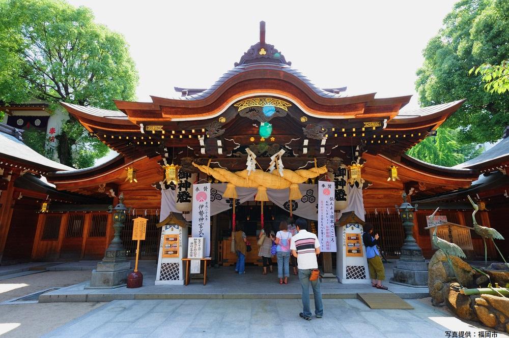 櫛田神社 福岡市 福岡 観光 名所 人気 スポット 九州 旅行 観光 おすすめ