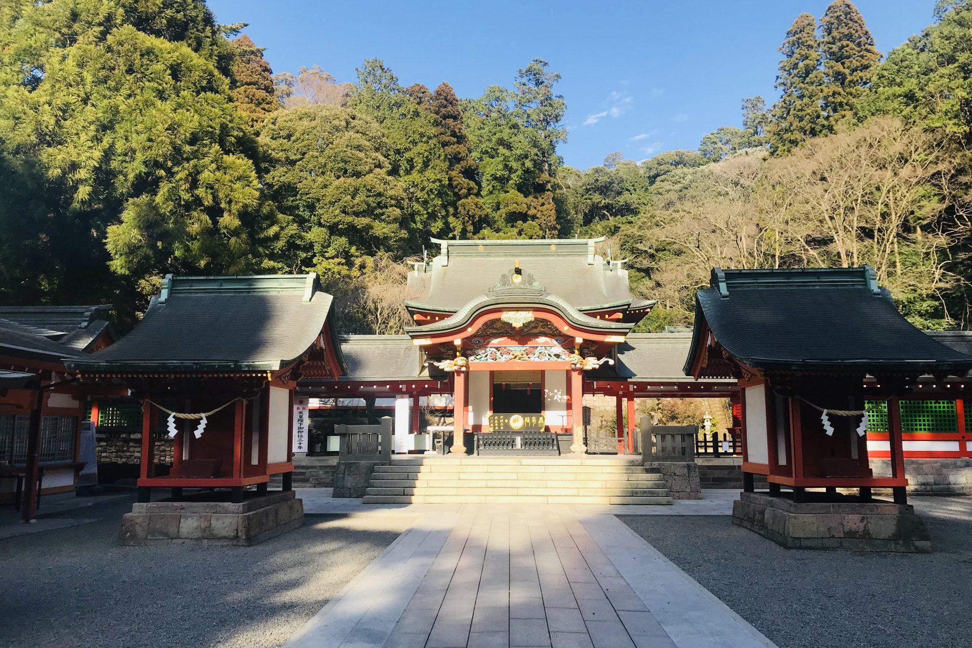 霧島神宮 鹿児島県 九州 有名 神社 おすすめ 観光 旅行 歴史