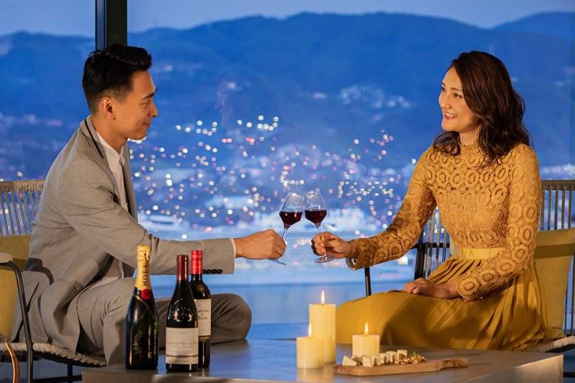 ラウンジ「NAGASAKI Harbor View Lounge」 長崎 ルーク プラザ ホテル 九州 旅行 おすすめ 観光