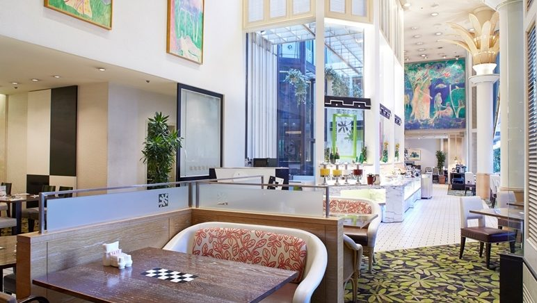 カフェ&レストラン「グリーンハウス」 福岡市 中央区 ホテルニューオータニ博多 九州 旅行 観光