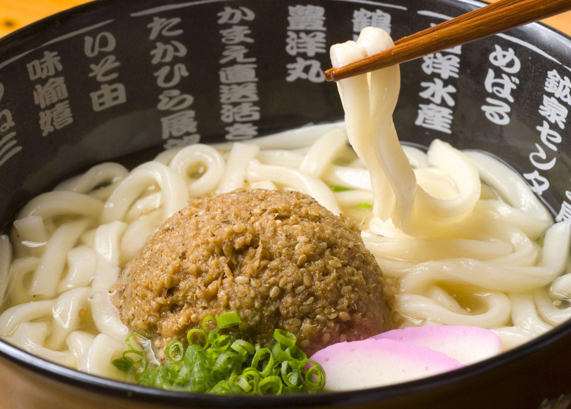 佐伯ごまだしうどん 大分 ご 当地 グルメ 名物 料理 B級 九州 旅行 観光 おすすめ