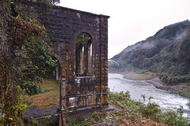 沈堕発電所跡 大分 九州 秘境 穴場 絶景 観光 旅行 おすすめ