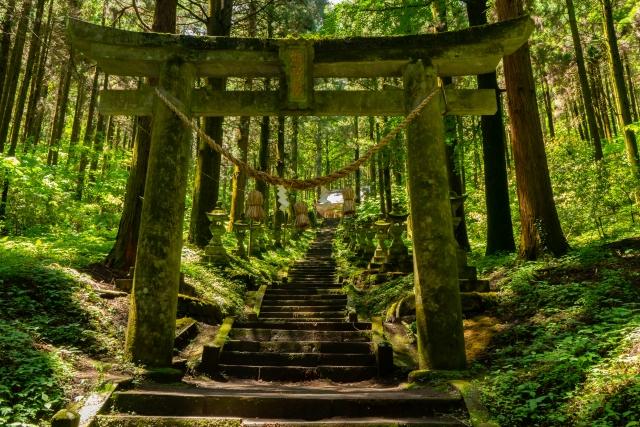 上色見熊野座神社 熊本 九州 秘境 穴場 絶景 観光 旅行 おすすめ