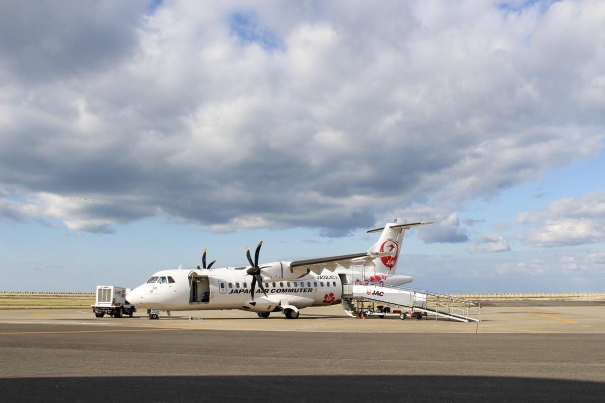 徳之島 空港 飛行機