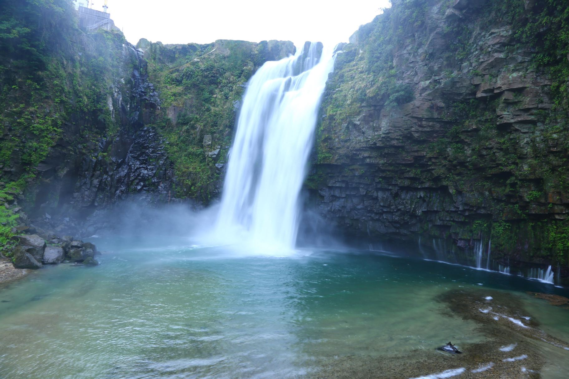 雄川の滝 鹿児島 観光 冬 九州 旅行 12月 1月 2月 おすすめ