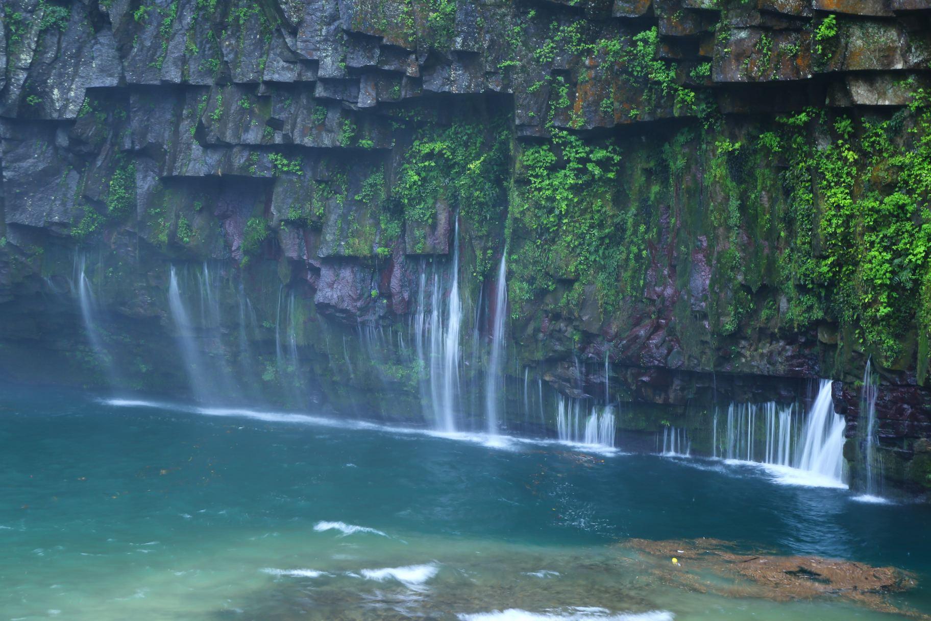 鹿児島県 根占町 南大隅町 雄川の滝