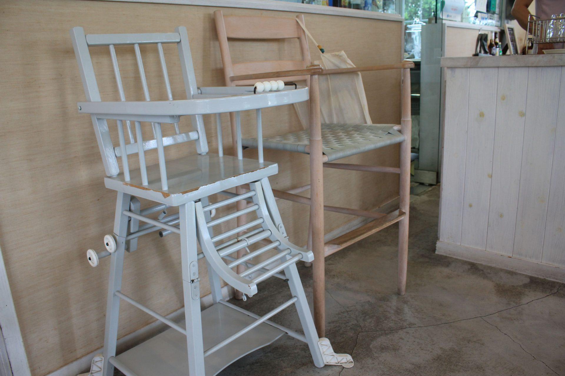 La Fonte ジェラート ラ フォンテ 龍郷町 幼児用椅子