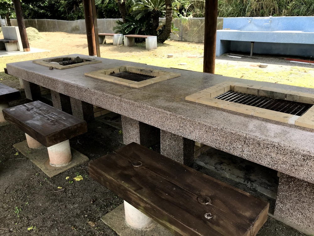 タエン浜海水浴場 BBQ  奄美大島 海 ビーチ 宇検村 観光 旅行
