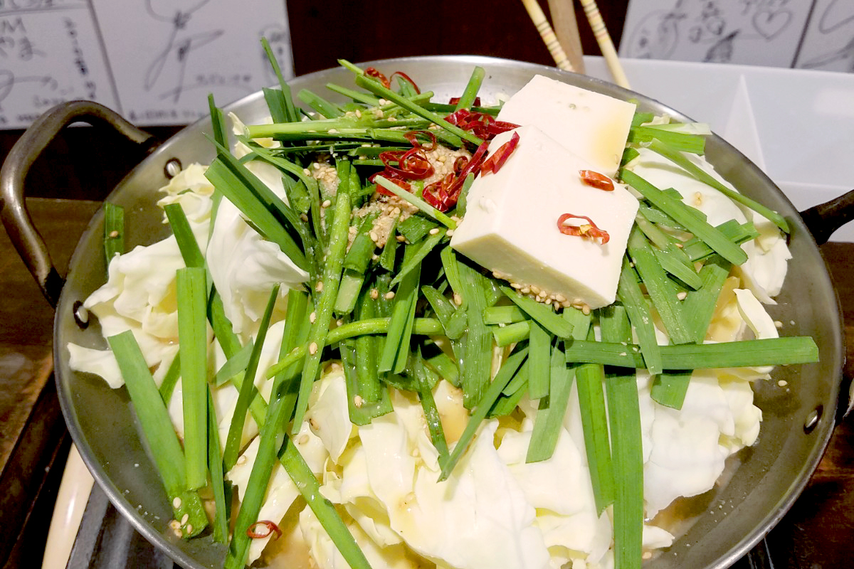 ぶっちぎりNO.1のオススメ!「元祖博多麺もつ屋」