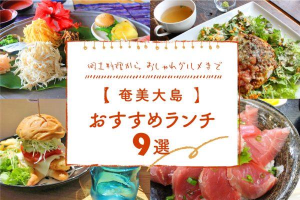 【奄美大島】おすすめランチ9選|郷土料理からおしゃれグルメまで