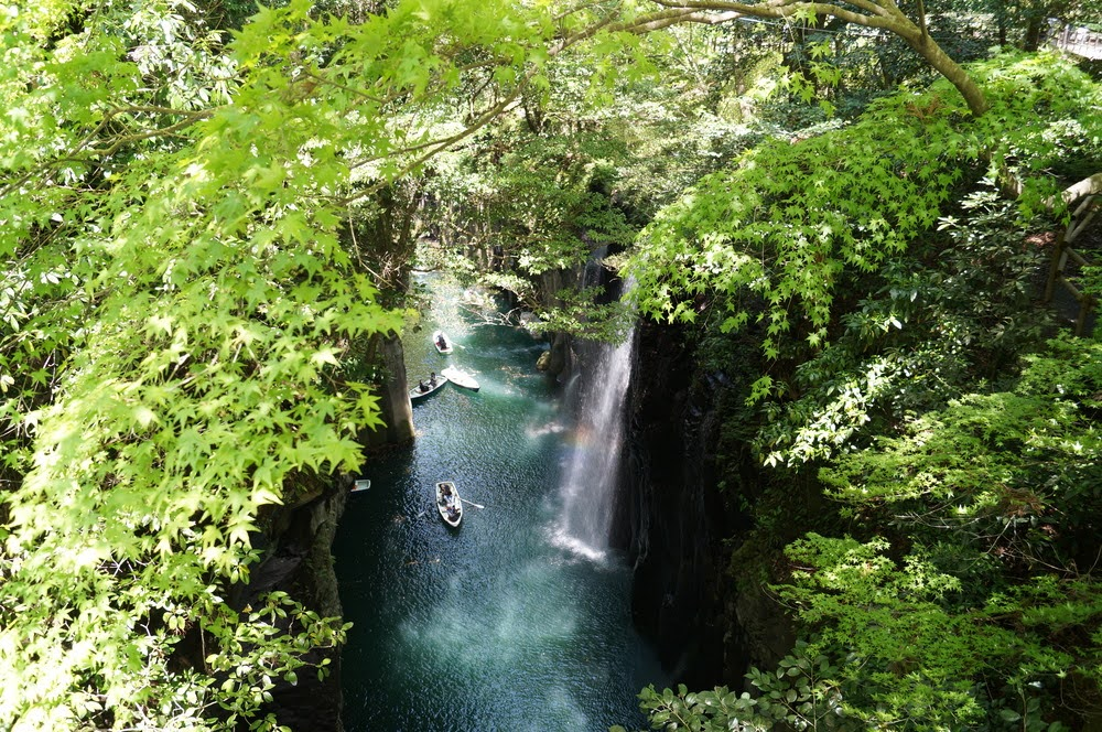 高千穂峡 高千穂町 宮崎 絶景 スポット 九州 旅行 観光 自然 おすすめ