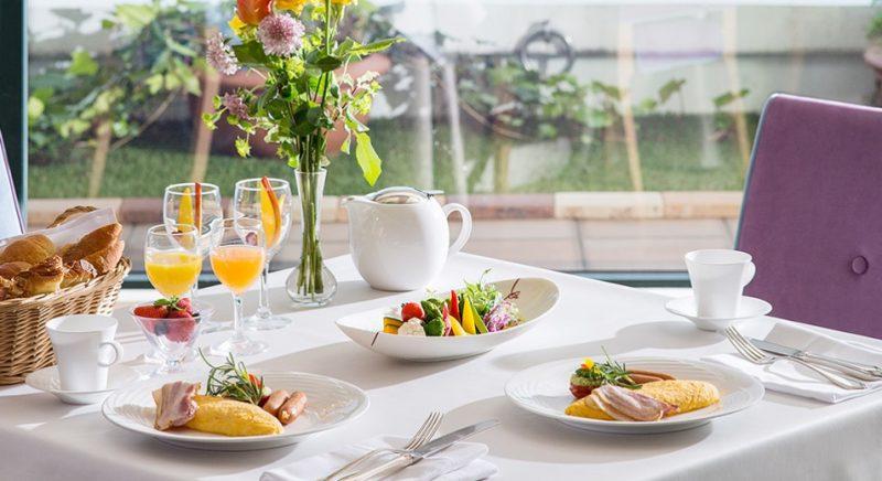 朝食 レストラン 長崎 ルーク プラザ ホテル 九州 旅行 おすすめ 観光