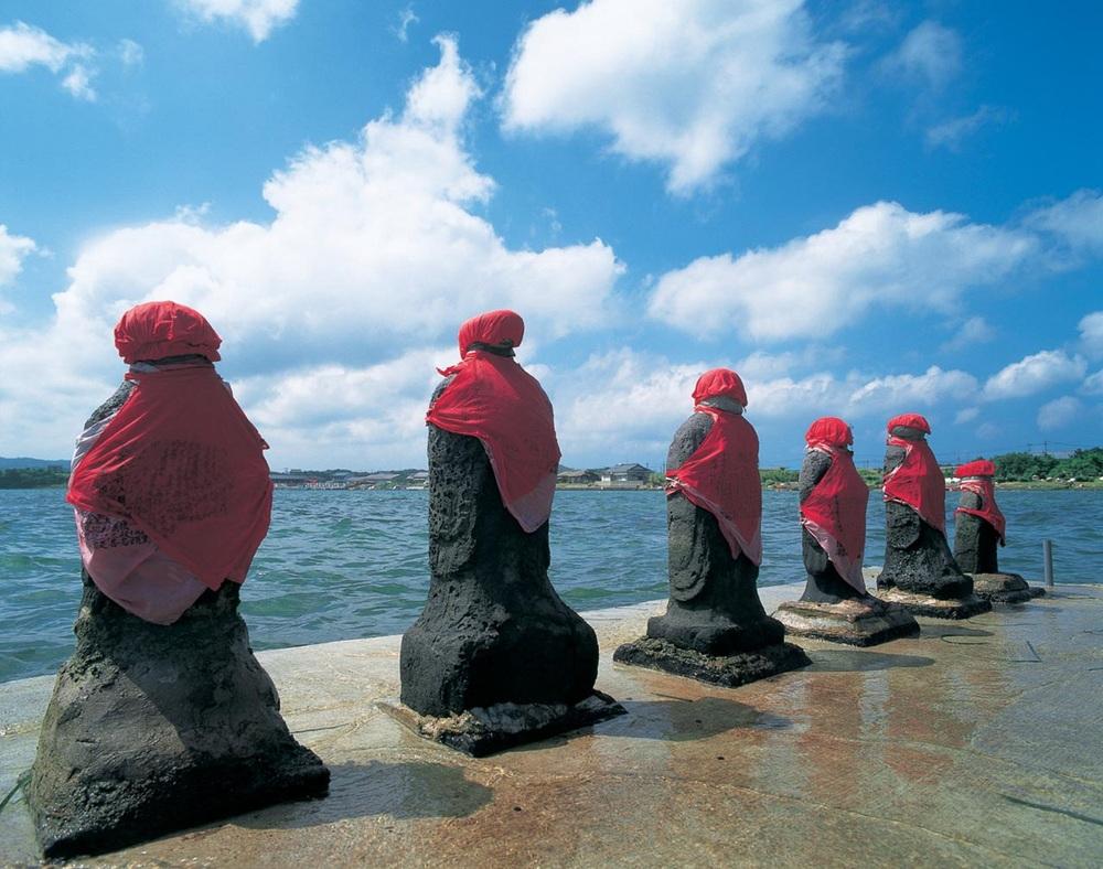 はらほげ地蔵 長崎 壱岐島 観光 スポット 地 おすすめ 旅行