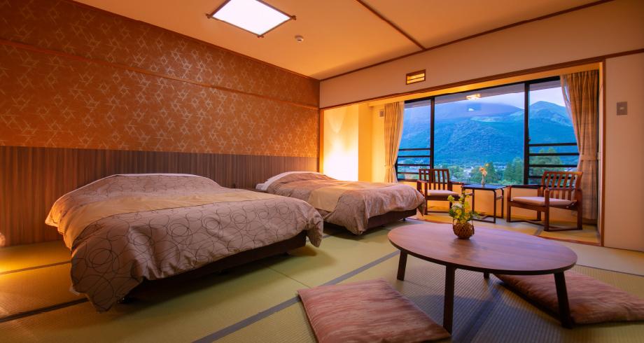 客室 湯布院 ゆふいん 山水 館 大分県 由布市 温泉 旅館 宿 旅行 観光 おすすめ 九州