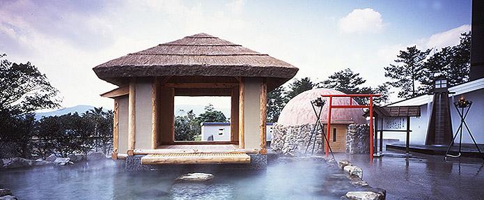 露天風呂 鹿児島県 指宿市 白水館 旅館 観光 おすすめ 九州 温泉