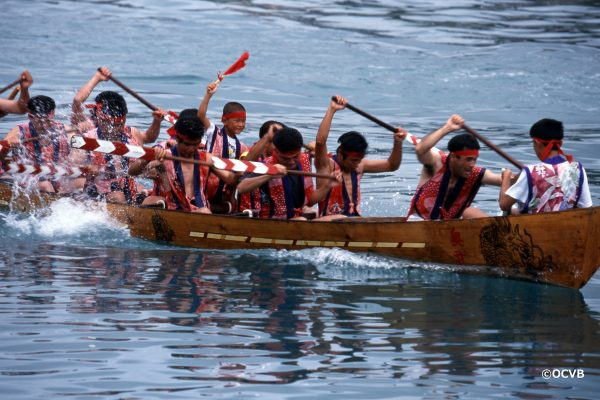 奧武島划龍舟