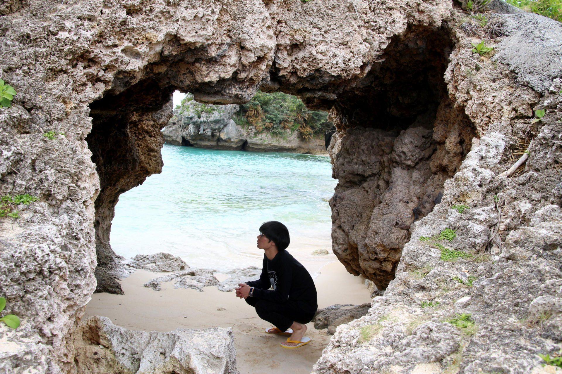 沖縄の穴場ビーチ「チグヌ浜」