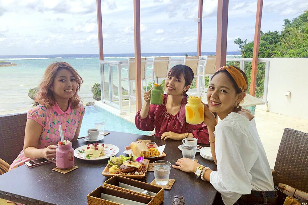 沖縄 海 カフェ CITACITA 恩納村