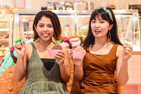 アイスをhugっと包んで笑顔無限大 iias沖縄豊崎の「hug3do」