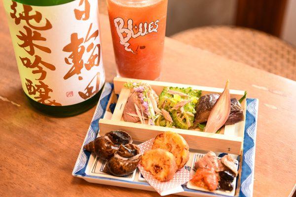 新小屋と八六、那覇市の名店がコラボ!沖縄県産食材の絶品料理が自慢の「末廣ブルース」 イメージ