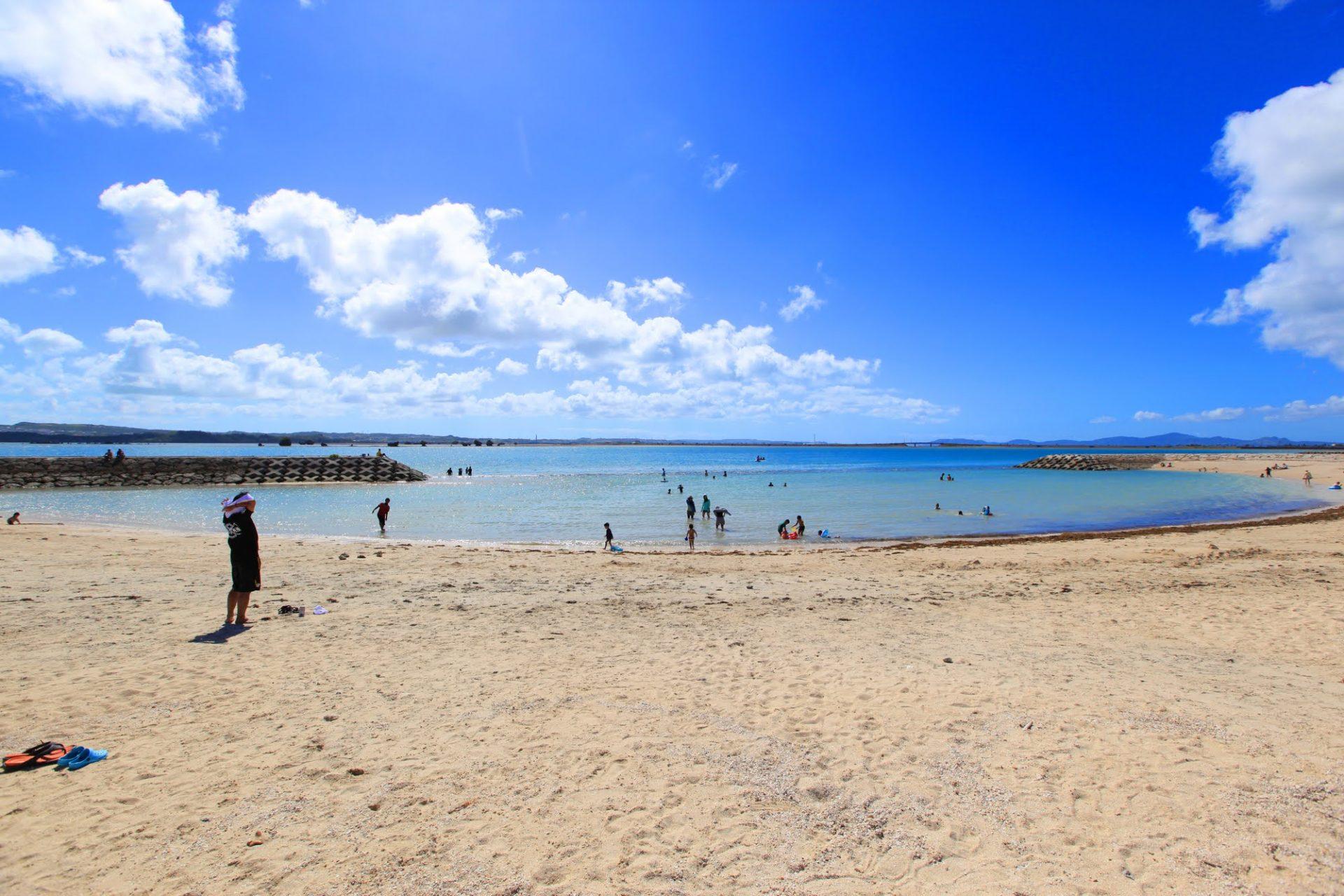 浜比嘉島北部「浜比嘉ビーチ」