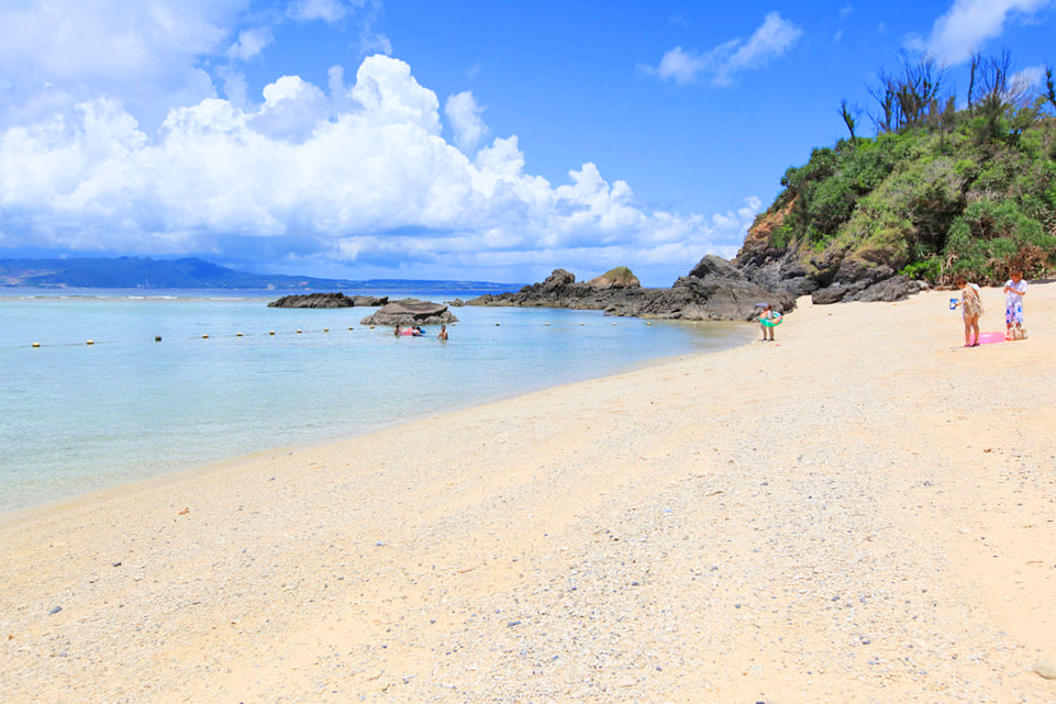 おすすめ恩納村ビーチ「ミッションビーチ」