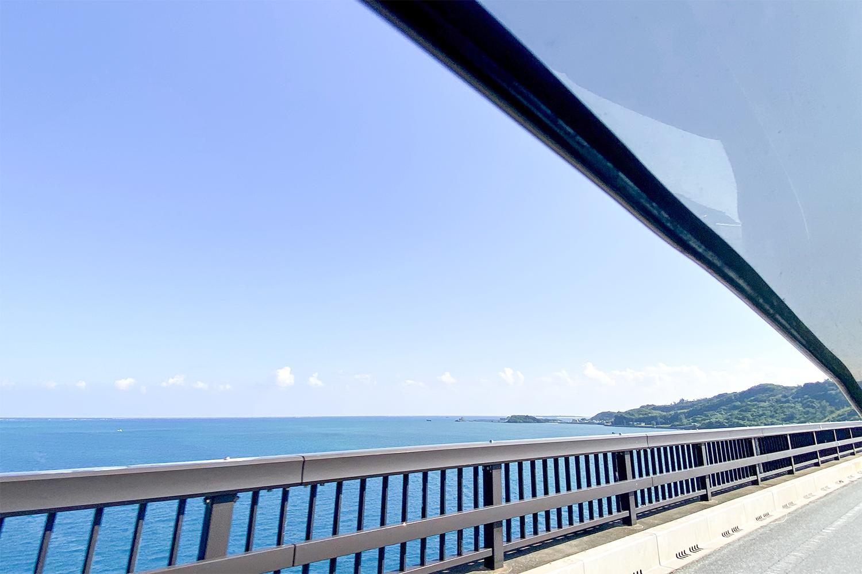 うるま市 海中道路 浜比嘉島
