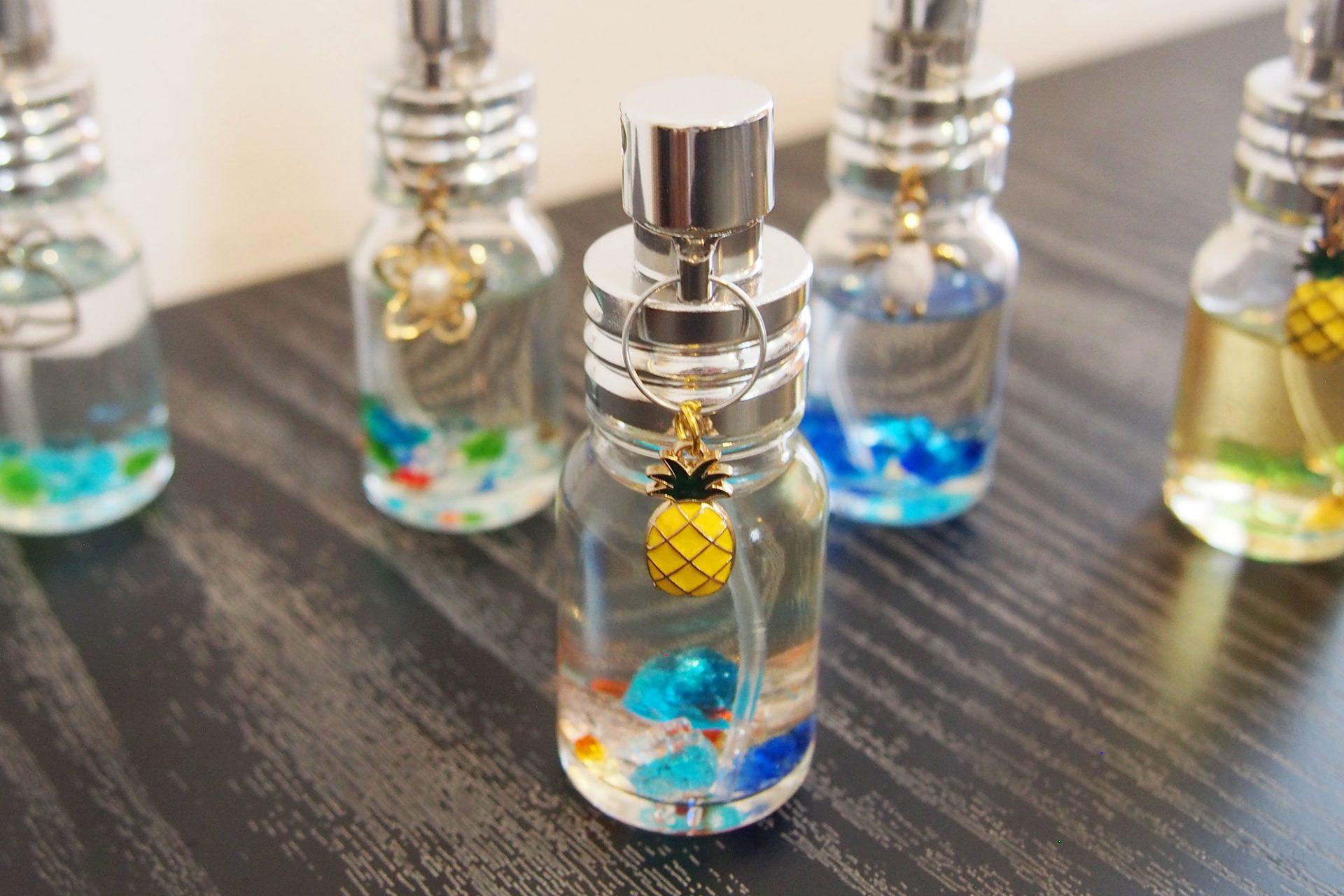 「琉球香房くるち」でオリジナルの香水作り体験