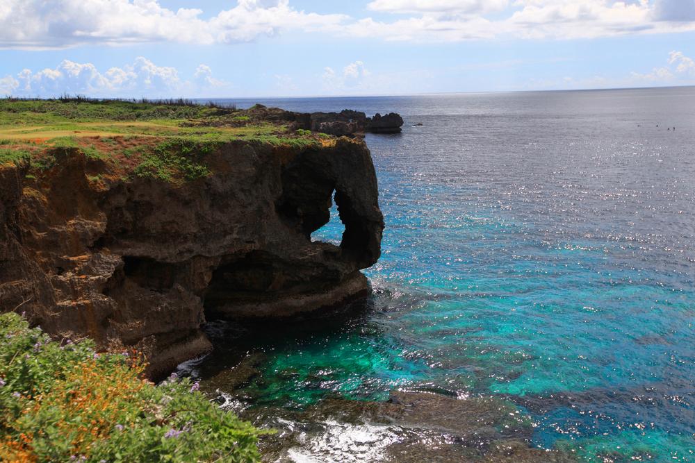 万座毛 恩納村 沖縄 景色 絶景 スポット