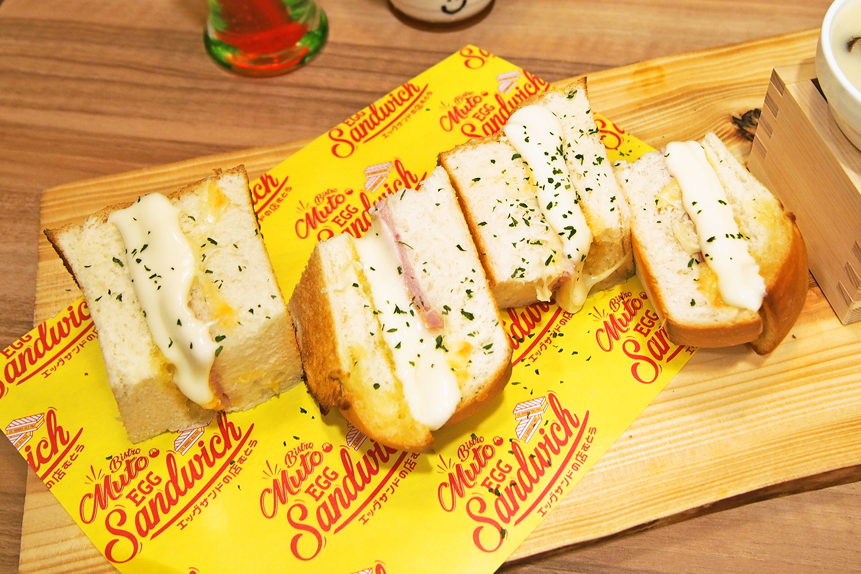 究極の・・・塩パンでトリプルチーズハムサンド/くいもの市場むとう