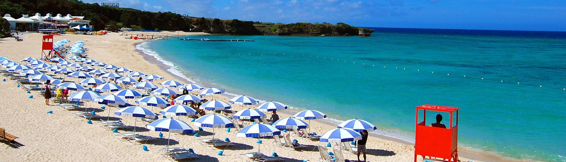 ホテル日航アリビラの魅力①天然ビーチ&屋内外のプール