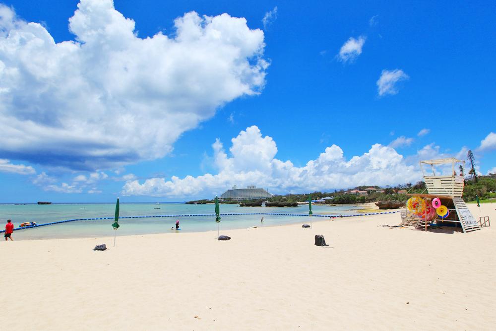おすすめ恩納村ビーチ「恩納村海浜公園ナビービーチ」