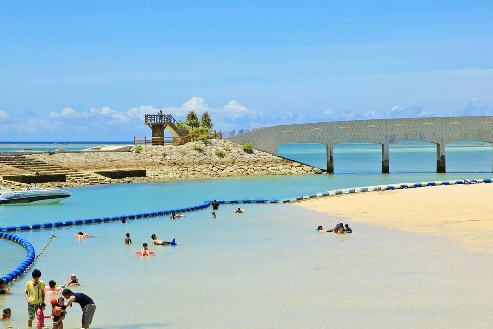美々ビーチいとまん 糸満市 沖縄 おすすめ ビーチ 離島 旅行
